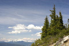 Alpine Vista, Whistler, Canada Stock Photos
