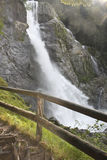 Alpine waterfall Stock Photography