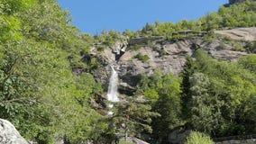 Alpine waterfall Royalty Free Stock Photo