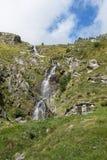 Alpine waterfall Stock Image
