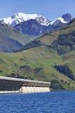 Alpine weir Stock Photos
