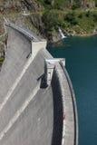 Alpine Weir Royalty Free Stock Photo