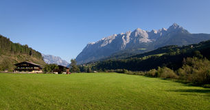Alpine Wiese Stockfotos