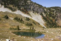 Alpine wilderness Stock Image