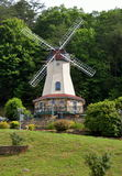 Alpine windmill in Helen village Royalty Free Stock Image