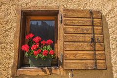 Alpine Window Royalty Free Stock Image