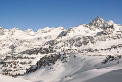 Alpine winter landscape Royalty Free Stock Photography