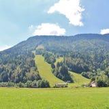 Alpine World Cup slope in Podkoren, Slovenia Stock Image