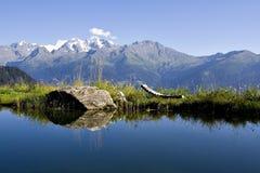 Alpiner See Lizenzfreie Stockbilder