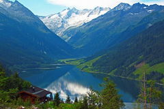 Alpiner See Lizenzfreie Stockfotografie