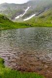 Alpiner See stockbild