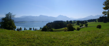 Alpiner See, Alpen, Österreich stockfoto