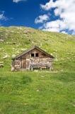 Alpiner Stall lizenzfreies stockbild