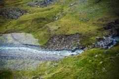 Alpiner Strom Stockbild