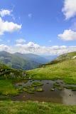 Alpiner Teich lizenzfreie stockfotografie