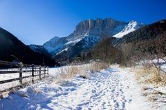 Alpiner Wintertag Lizenzfreie Stockfotografie