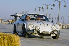 Alpines Auto Lizenzfreies Stockfoto