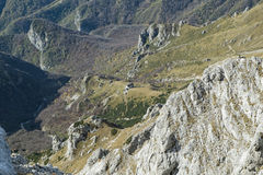Alpines Chalet stockfotos