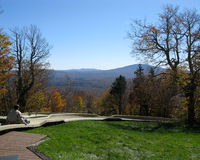 Alpines Dia im Herbst Lizenzfreies Stockfoto
