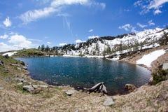 Alpines jezioro Fotografia Stock