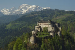 Alpines Schloss Lizenzfreie Stockbilder