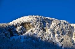 Alpines Skiort in Solden in Otztal-Alpen, Tirol, Österreich Lizenzfreies Stockbild