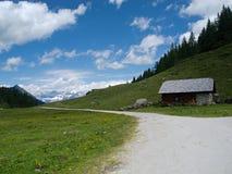 Alpines Thema Lizenzfreies Stockfoto