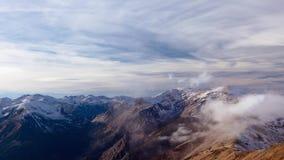 Alpines Wetter - Zeitspanne I stock video