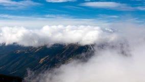Alpines Wetter - Zeitspanne II stock video footage