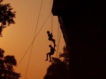 alpiniści zdjęcie stock