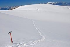 Alpinism i Kaukasus Arkivbilder