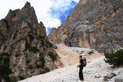 Alpinisme stock foto