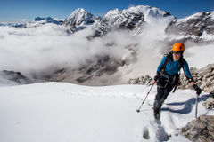 alpinisme Photographie stock