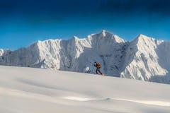 Alpinisme de ski photos libres de droits