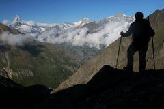 Alpinismo Immagine Stock Libera da Diritti
