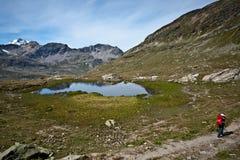 Alpinismo Fotografie Stock Libere da Diritti