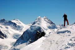 Alpinismo Imagem de Stock Royalty Free