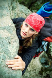 Alpinismo Fotografie Stock