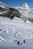 Alpinismo Fotografia Stock