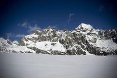 Alpinismo dello sci Immagini Stock Libere da Diritti