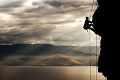 Alpinist #1 Stock Photography