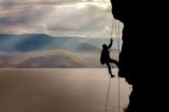 Alpinist 2 Stockfoto