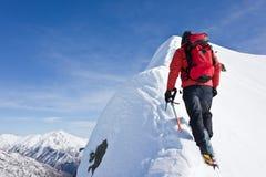 Alpinist Stock Photos