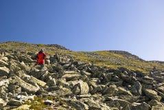 Alpinista Immagine Stock Libera da Diritti