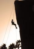 Alpinista Fotografie Stock