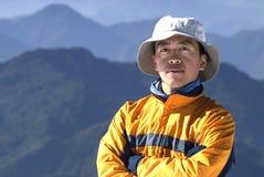Alpinista Immagini Stock Libere da Diritti