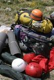 Alpinista Fotografie Stock Libere da Diritti