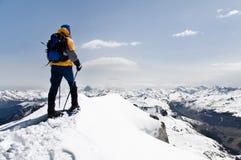 Alpinista Fotos de Stock