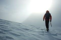 Alpinista foto de stock royalty free