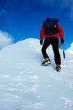 Alpinista Immagini Stock